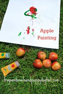 New Twist To Painting With Apples by FSPDT