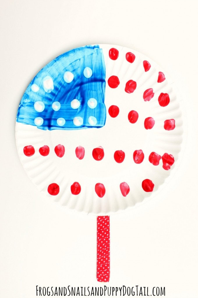 paper plate fan craft for kids