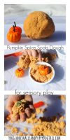 Pumpkin Spice Soda Dough Play Recipe