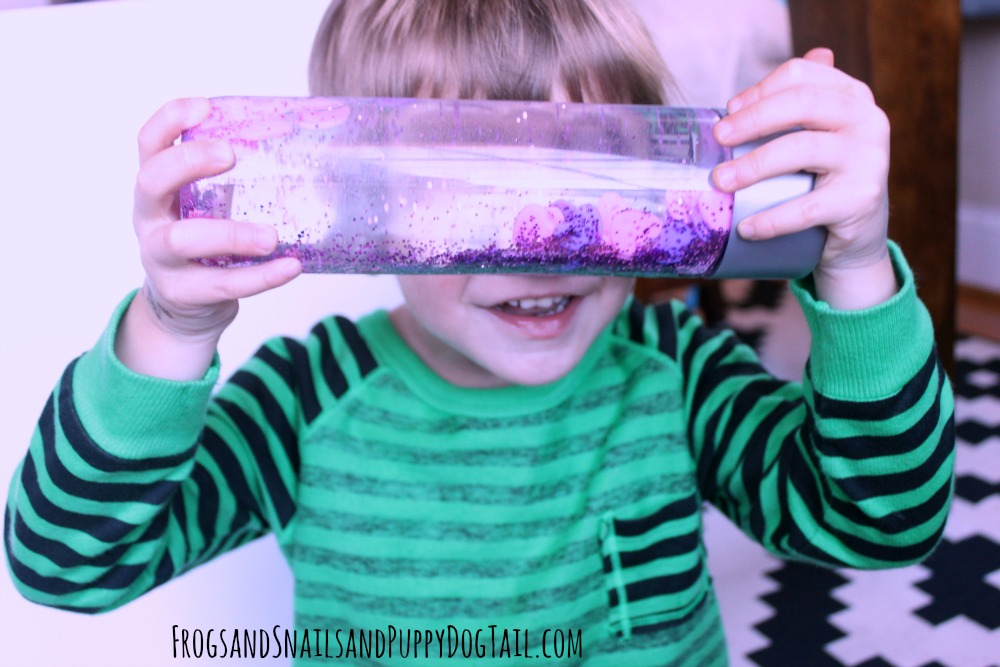 sensory bottle for kids