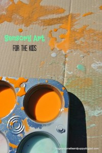 sensory art for the kids by FSPDT