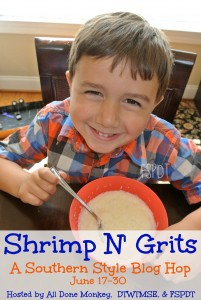 Shrimp N Grits: A Southern Style Blog Hop