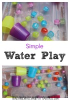 Simple water play for kids