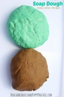 soap dough easy play recipe