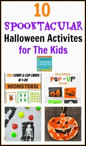10 Spooktacular Halloween Activities For The Kids {Mom's Library 10-8}