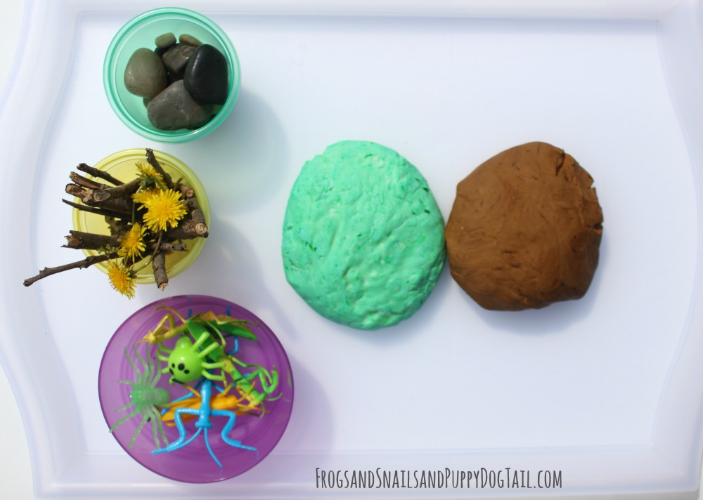 spring playdough