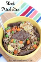 steak fried rice easy dinner idea