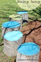 Stump Jump Gross Motor Play for Kids