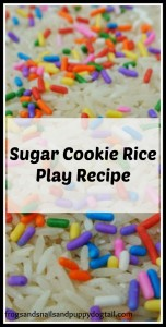 Sugar Cookie Rice Play Recipe by FSPDT
