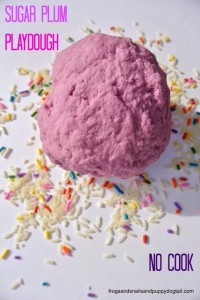 Sugar Plum No Cook Playdough by FSPDT