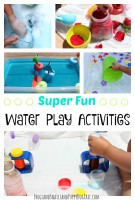 super FUN water play activity ideas for kids