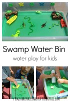 swamp water bin for kids