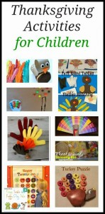 Thanksgiving Activities for Children byFSPDT