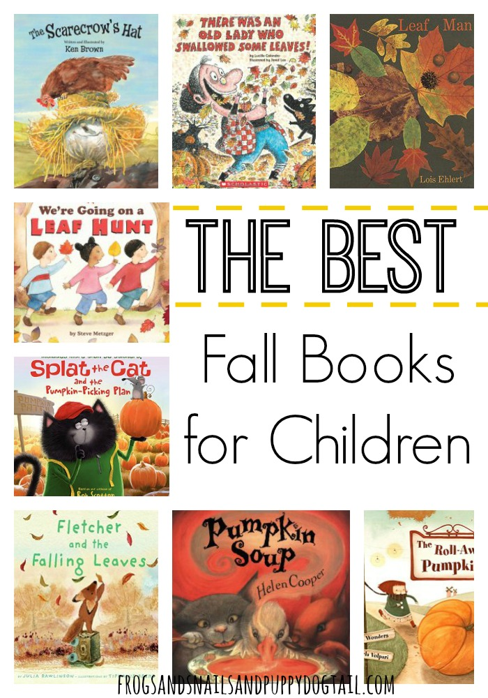 the best fall books for children
