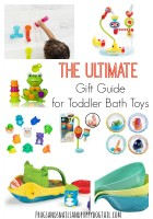 the ultimate gift guide for toddler bath toys