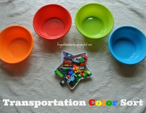 Transportation Color Sort