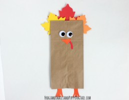 turkey craft with kids