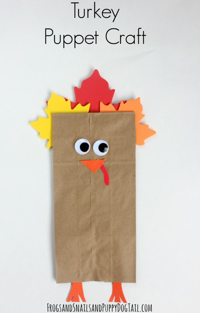 turkey puppet crafts