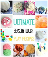 ultimate sensory dough play recipes for sensory play activities