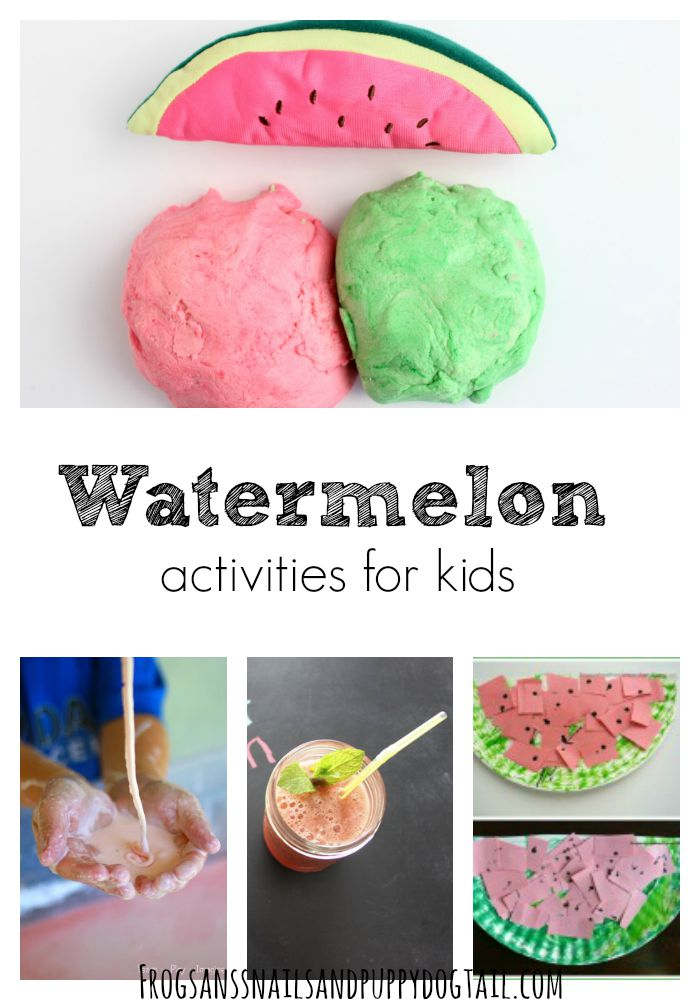 watermelon activities for kids