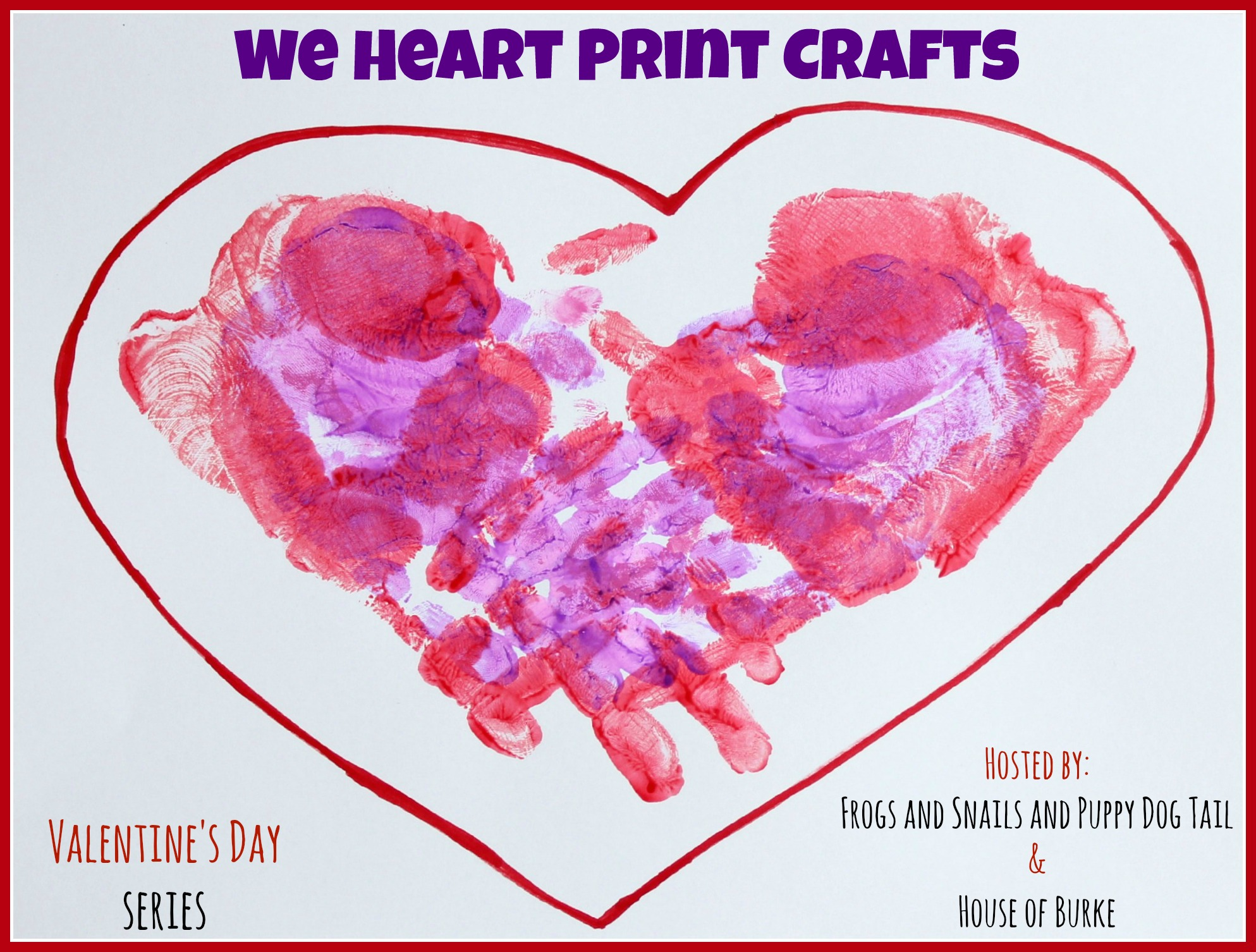 we heart print crafts