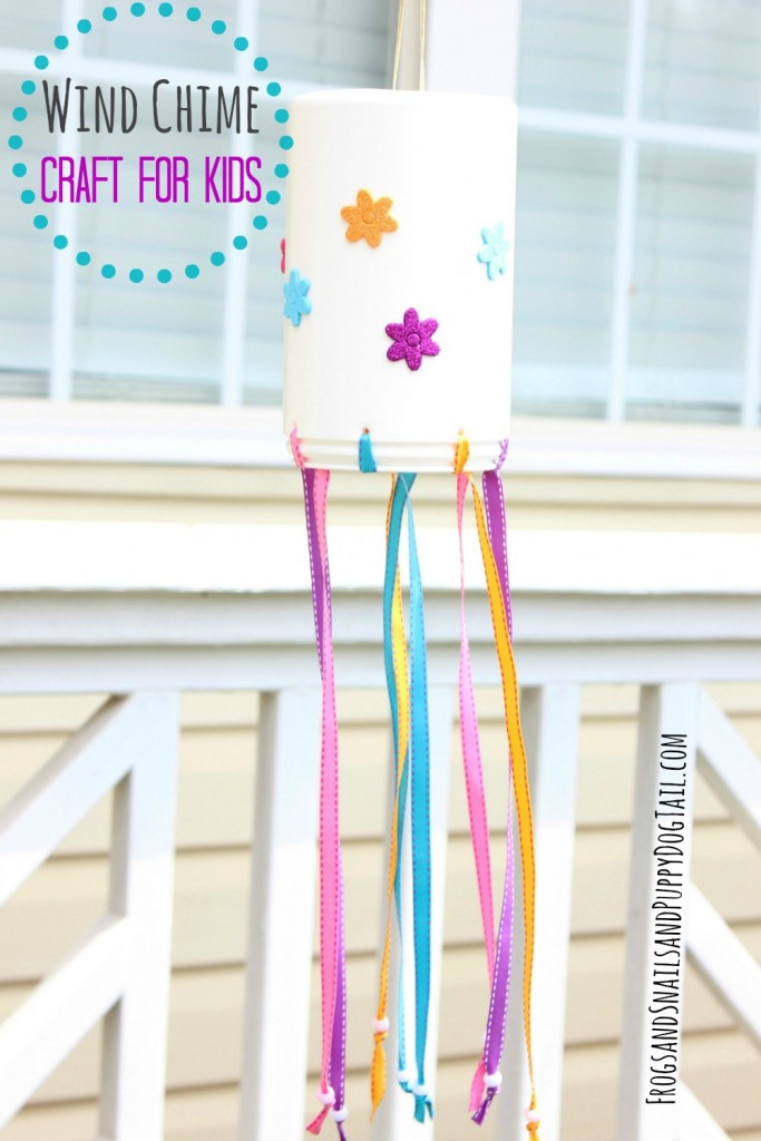 wind chime craft for kids easy and fun to make