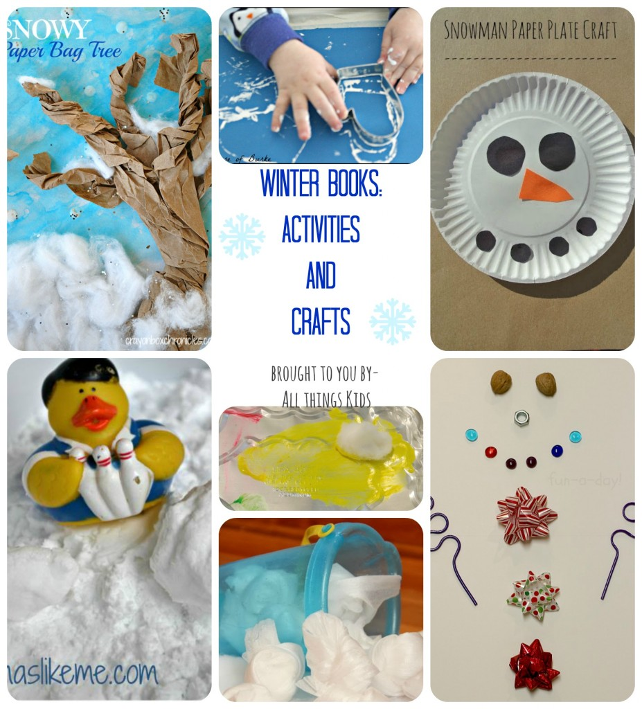 winter books activities and crafts for kids