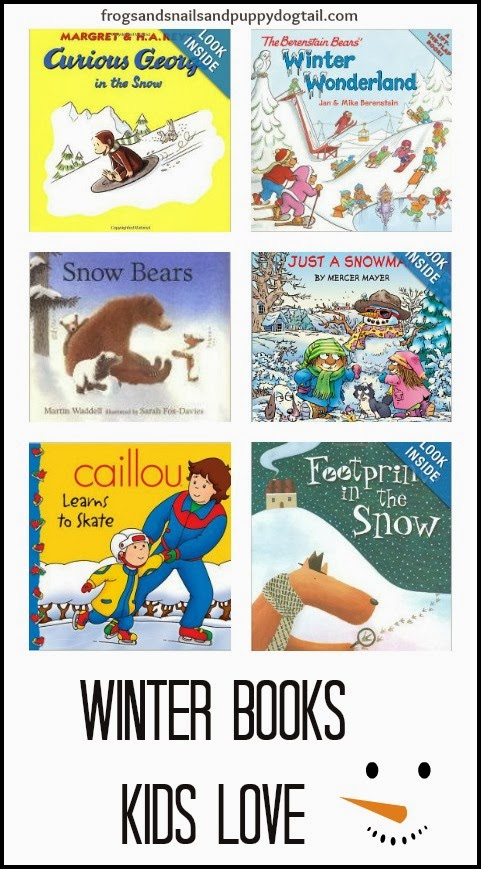 Winter Books kids Love by FSPDT