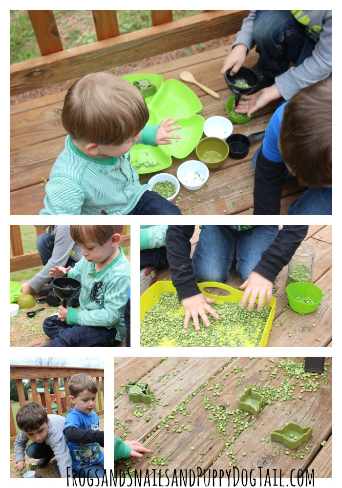 Yoda sensory play for kids